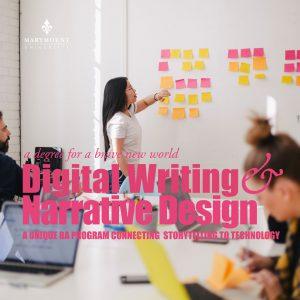 Digital Writing & Narrative Design Program Advertisement: A Unique BA Program Connecting Storytelling to Technology