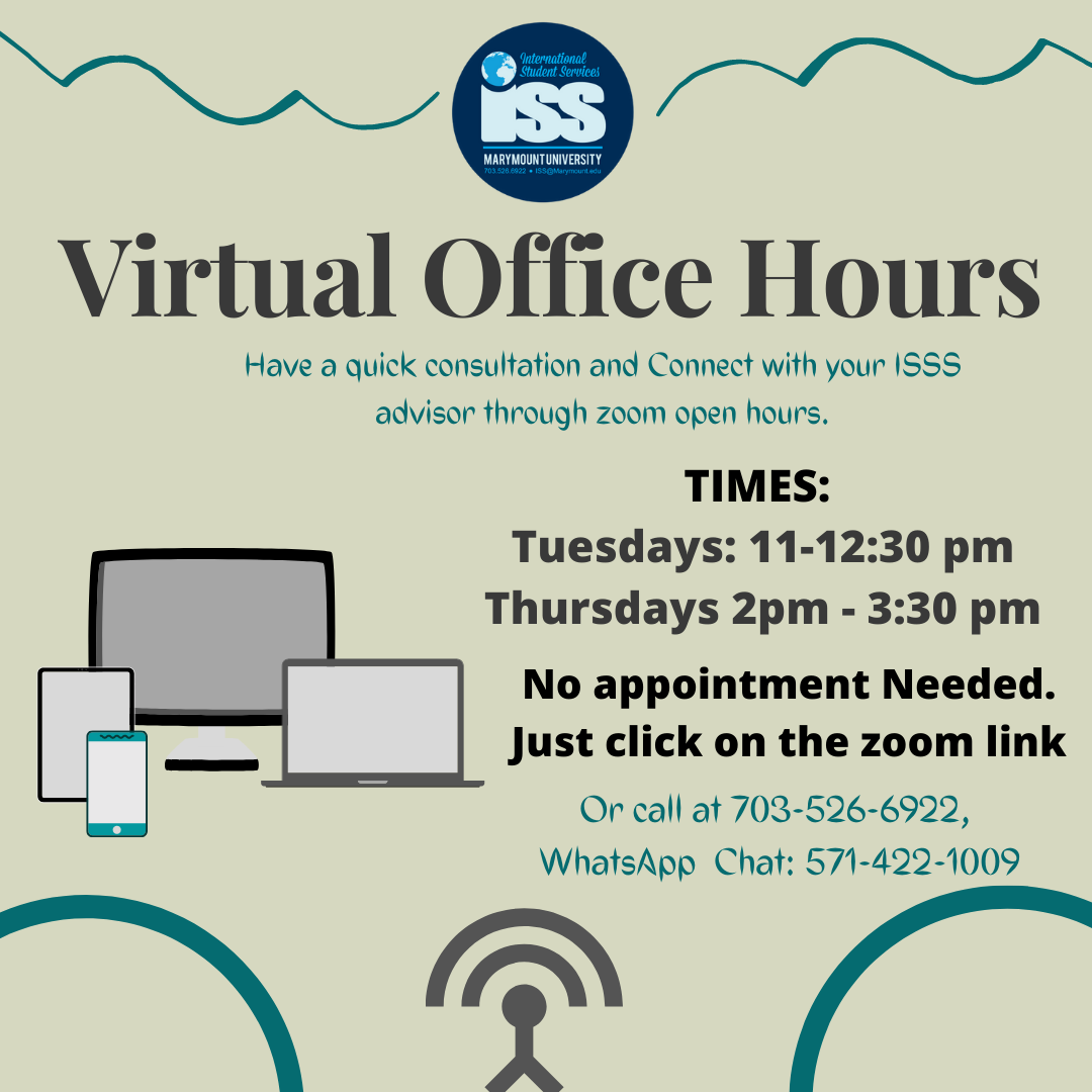 Zoom Virtual Office Hours - clear all your questions here!
