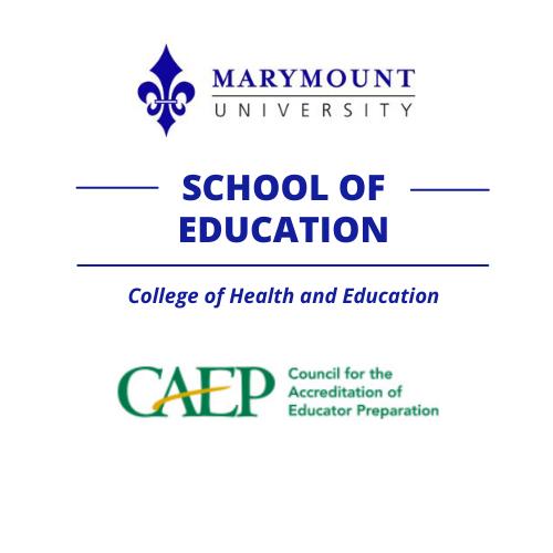 Marymount's School of Education Earns Accreditation