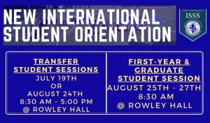 International Student Session