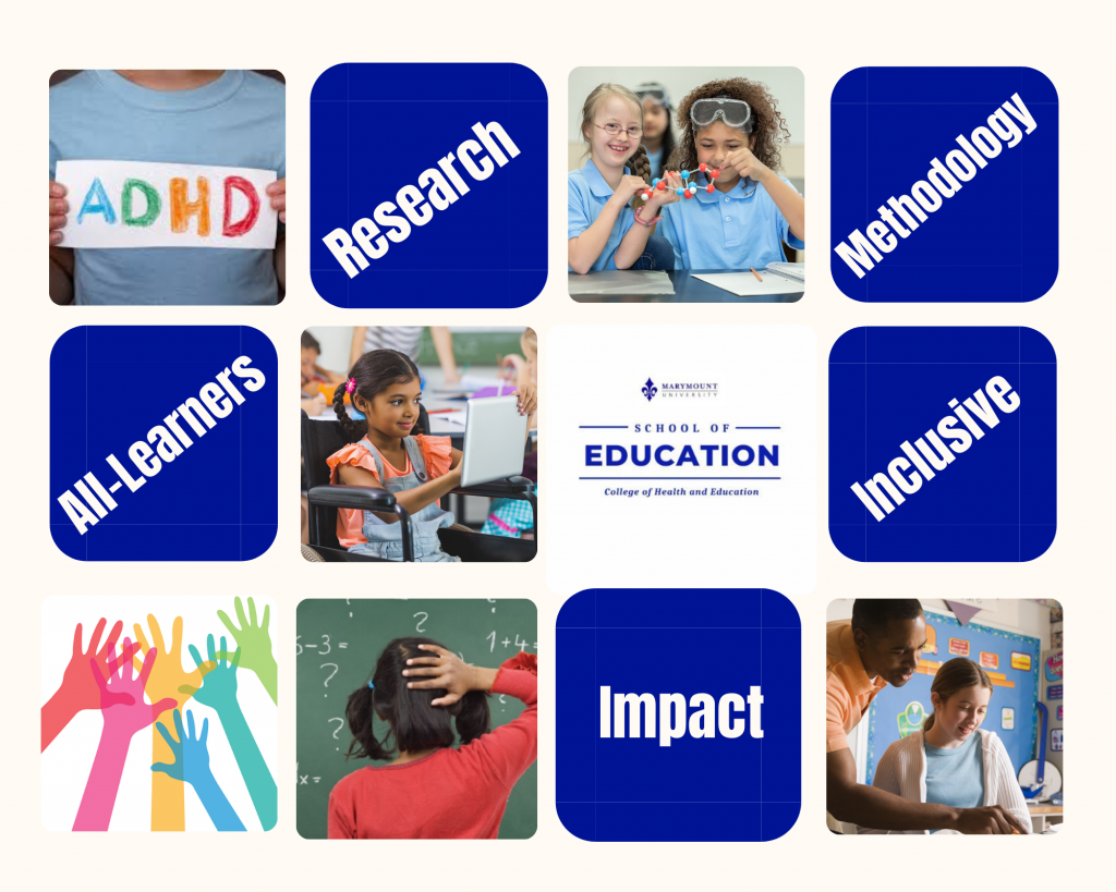 Various images of Inclusive Classrooms