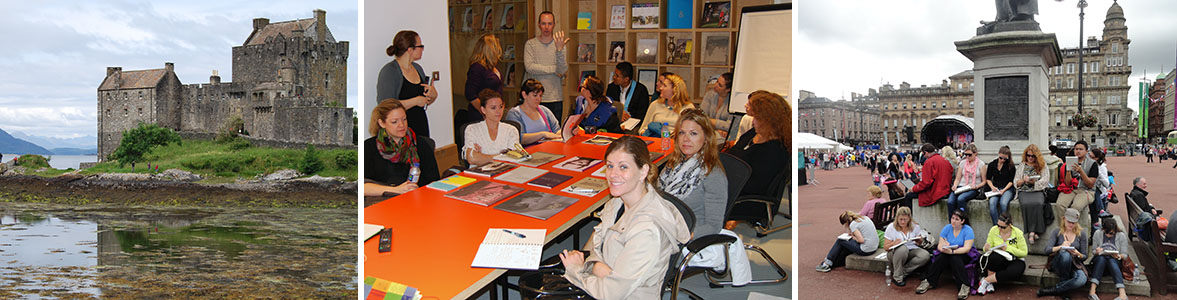 Study Abroad for Graphic and Media Design Students