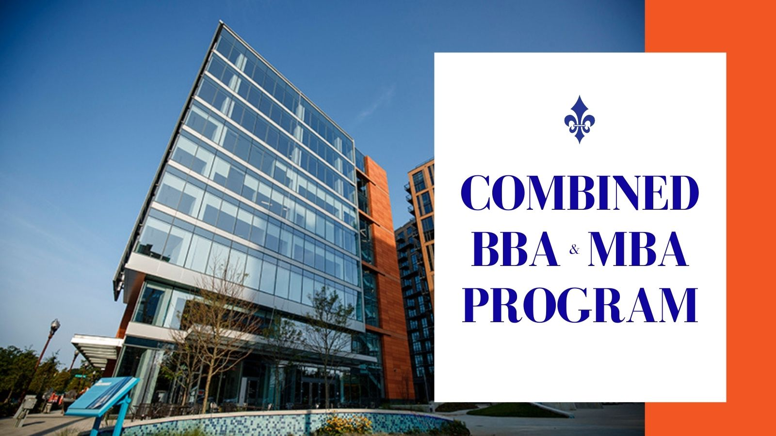 Combined BBA/BA/BS to MBA