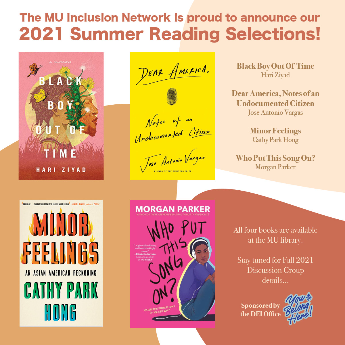 Summer Reading & Fall Discussion