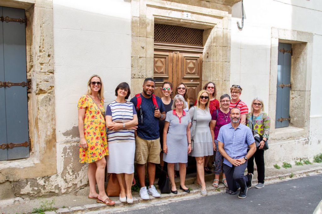 Marymount Students in Beziers Photo