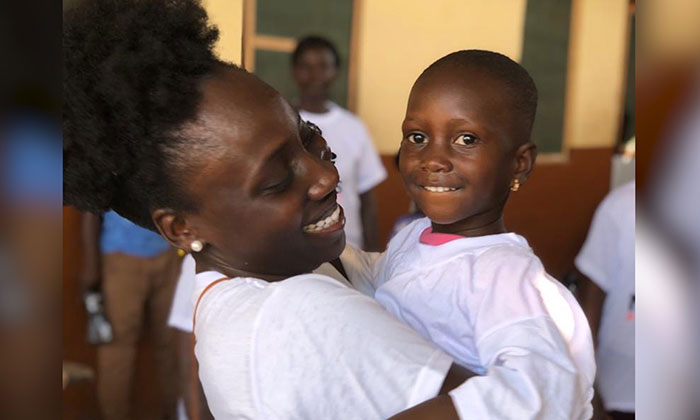 """Marymount alumna is transforming lives in Ghana through """"Nana's Project"""""""
