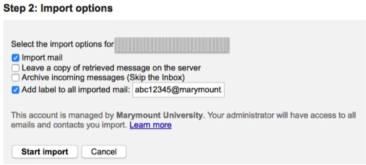 Sign up for Alumni Email Account