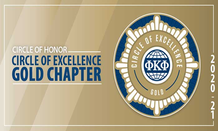 Marymount's Phi Kappa Phi attains Circle of Excellence Gold Chapter status for second straight year