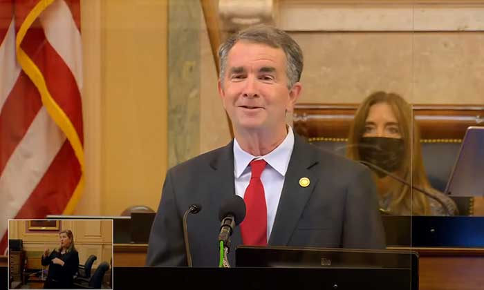 VA Gov. Ralph Northam Photo