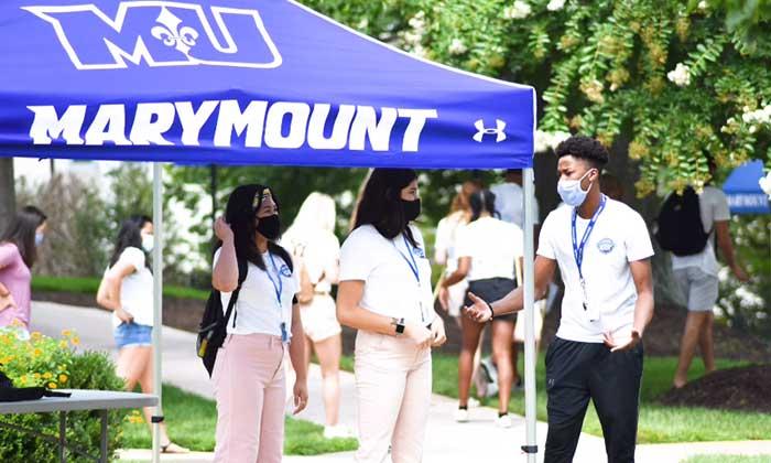 WDVM: <em>Only 86 positive coronavirus cases: How Marymount University has kept students safe this past semester</em>