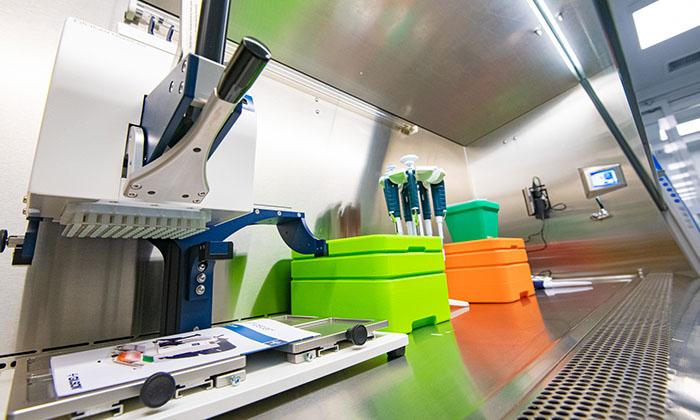 Mobile COVID-19 testing laboratory