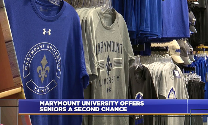 WDVM: <em>High school seniors will have a second chance at acceptance at Marymount</em>