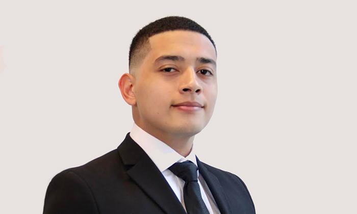 David Moreno, rising senior at Marymount University and recipient of Sigma Delta Chi Foundation scholarship