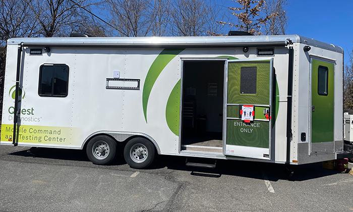 Mobile COVID-19 Testing Unit