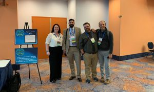 Dr. Farrell and her pre-conference workshop team at the 2020 Annual Meeting of the American Academy of Forensic Sciences in Anaheim, Calif. in February 2020.