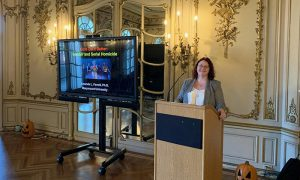 Dr. Farrell delivers a guest lecture for Fright Week: Exploring the Dark Side of Criminology in 2019 at Arcadia University.