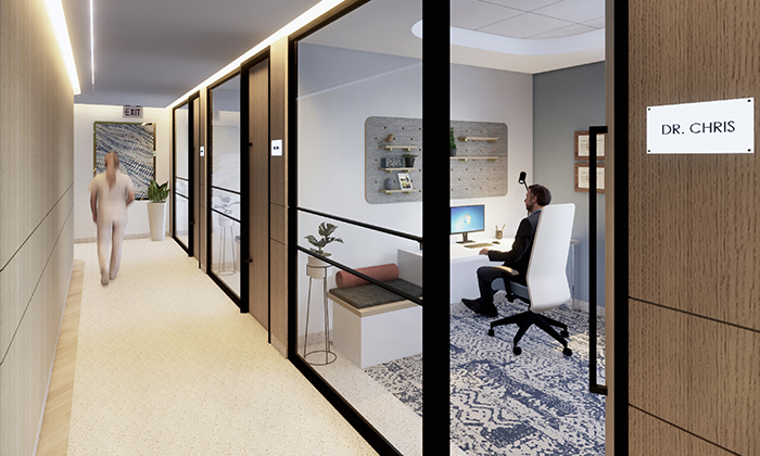 Skyline Internal Medicine design by Nicolas Swaner.