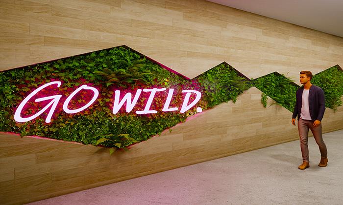 Rendering of Swaner's design for the World Wildlife Fund.