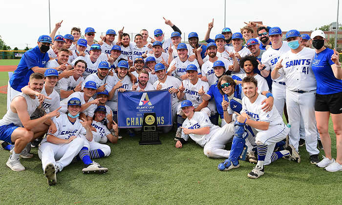 Marymount Baseball claims first-ever Atlantic East title