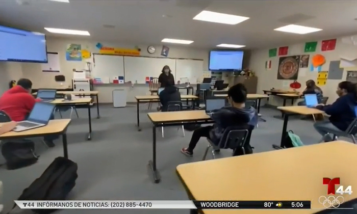 Telemundo story on President Biden's Plan for America's Public Education
