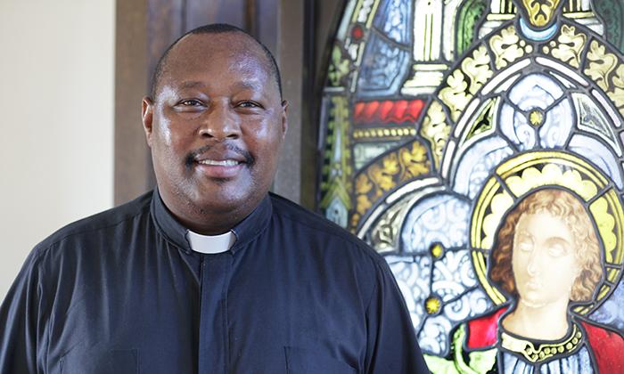 Rev. Gabriel Muteru, the next Chaplain of Marymount University