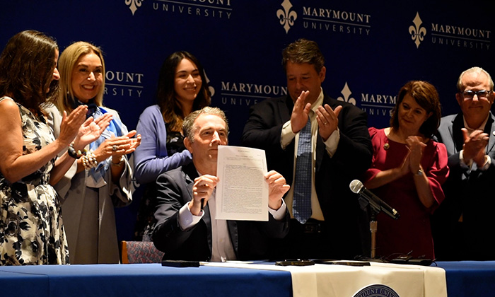 The Arlington Connection: Marymount University hosts Gov. Northam to sign bills for financial aid to Dreamers