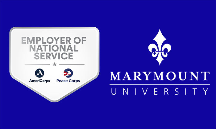 Marymount University joins the Employers of National Service network