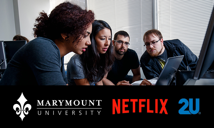 Marymount University partners with Netflix and 2U to launch virtual tech boot camps