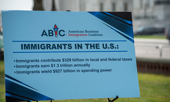 Immigration statistics cited in the American Business Immigration Coalition press conference in support of the DACA program