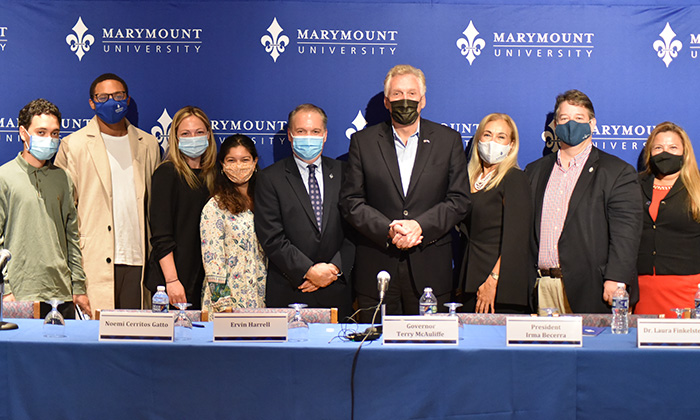 Marymount announces 96 percent on-campus vaccination rate during COVID-19 roundtable panel