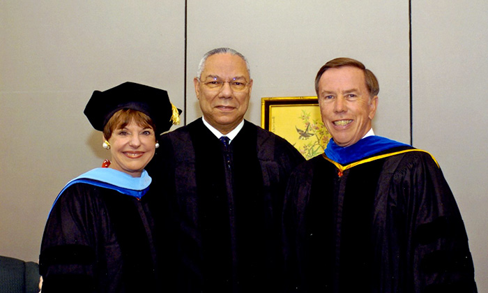 Marymount remembers Colin Powell, keynote speaker at 2006 commencement